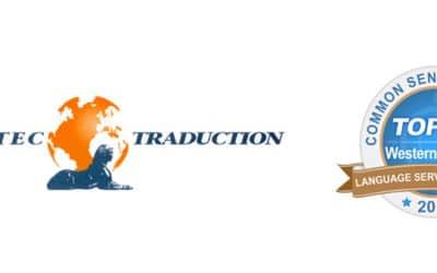 Le groupe Tradutec, dont Tradulux fait partie, intègre le TOP40 des prestataires de services linguistiques d'Europe de l'Ouest